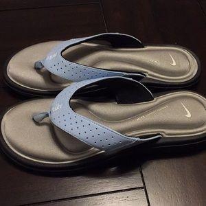 Memory foam Nike sandals